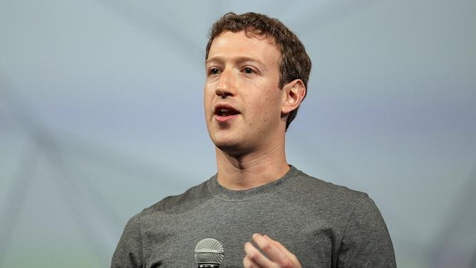 Facebook CEO Mark Zuckerberg speaks at a conference on April 30, 2014 in San Francisco, California