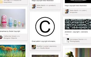 Pinterest's Copyright Strategy Puts the Burden on Users