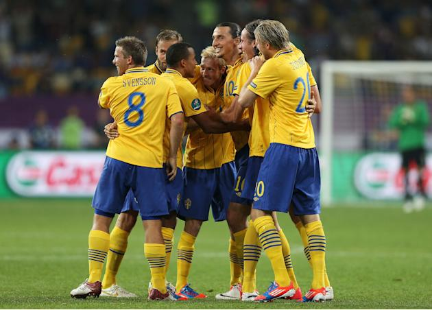 Sweden v France - Group D: UEFA EURO 2012