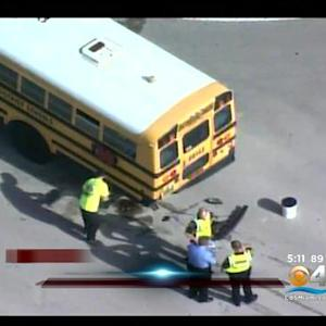 Plantation School Bus Accident, No Students Hurt