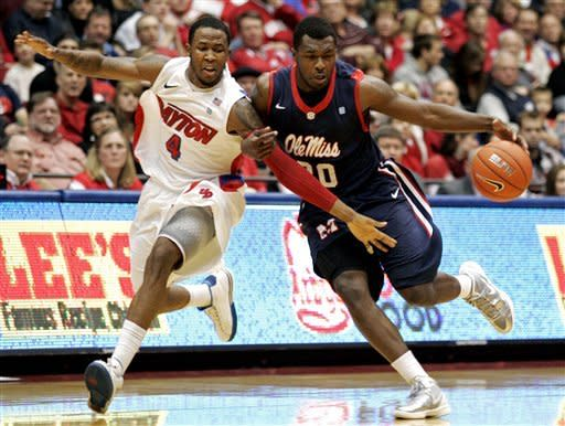 Johnson has 16, leads Dayton past Ole Miss 62-50