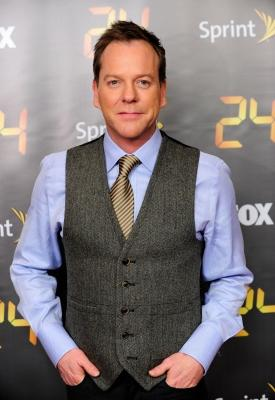 Kiefer Sutherland attends the season premiere for the eighth season of the television series '24' at Jack H. Skirball Center for the Performing Arts on January 14, 2010 in New York -- Getty Images