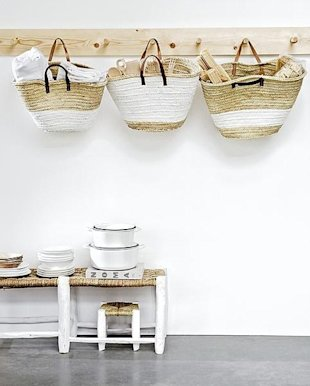 Shopping bags for storage