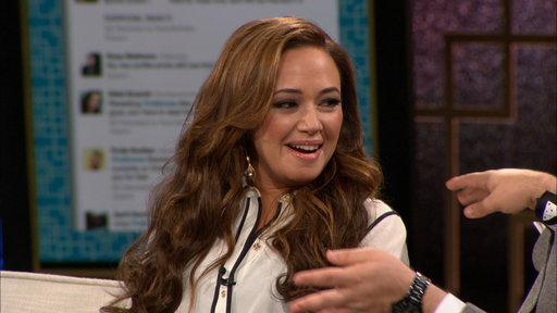 Leah Remini Talks DWTS With Ross