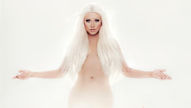 "This CD cover image released by RCA Records shows the latest release by Christina Aguilera, ""Lotus."" (AP Photo/RCA Records)"