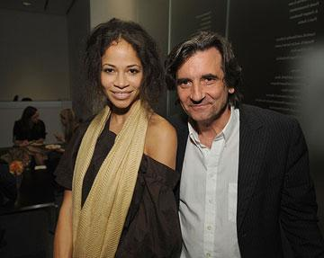 Sherri Saum and Griffin Dunne at the New York City premiere of Overture Films' The Visitor – 04/01/2008 Photo: Dimitrios Kambouris, WireImage.com