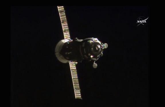 Russian Cargo Spacecraft Arrives at Space Station