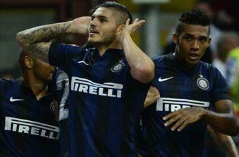 Icardi thrilled with 'beautiful' first Inter goal