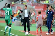 Fabio Capello watches a friendly between Russia and Ivory Coast at Lokomotiv Stadium in Moscow in August. Capello acknowledges that Russia has a history of losing big matches that must be instantly reversed