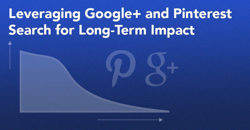 How to Levarage Google+ & Pinterest Search for Long-Term Impact