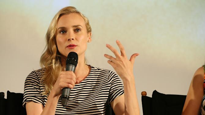 Diane Kruger at FX's Screening of The Bridge held at The Pacific Design Center on May 20, 2013 /Invision for CLIENT NAME/AP Images)