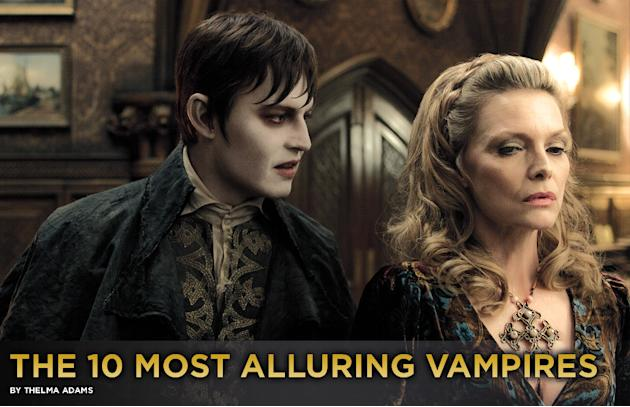 The 10 Most Alluring Vampires