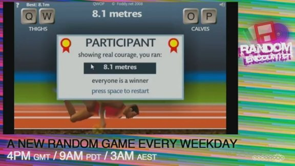 Random Encounter - QWOP and …