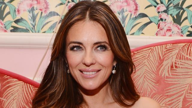 Elizabeth Hurley Shares Amazing Flashback Photo of Her on a Stripper Pole in Vegas