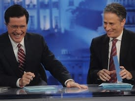 Did Jon Stewart & Stephen Colbert Have Shortest Election Coverage Ever?