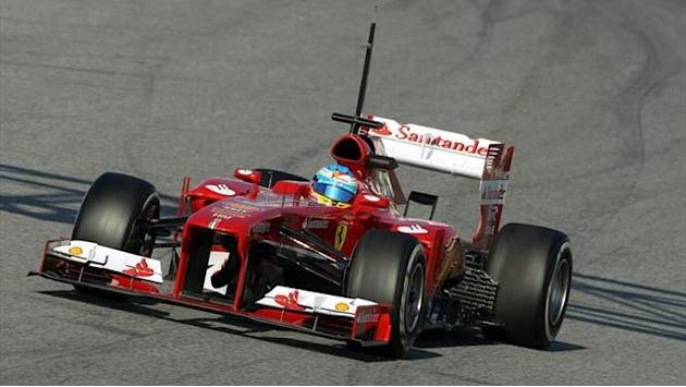 Formula 1 - Alonso dominates testing in Barcelona
