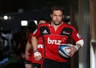 All Blacks captain Richie McCaw ahead of a rugby union Super 15 match in Christchurch in July. There will be no shortage of power and passion when New Zealand defend their unbeaten record in their Rugby Championship third-round clash against Argentina in Wellington on Saturday