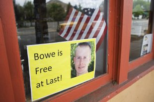 CLICK IMAGE for slideshow: U.S. soldier Bowe Bergdahl. REUTERS/Patrick Sweeney