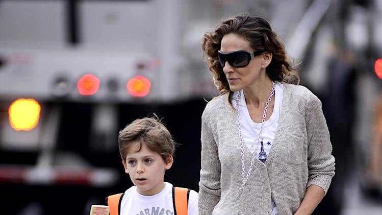 Sarah Jessica Parker Is Seen Taking James To School
