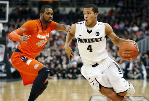 No. 7 Syracuse holds off Providence 72-66