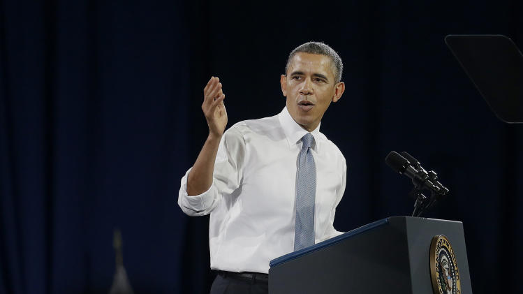 President Barack Obama speaks about immigration reform, Monday, Nov