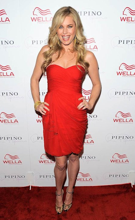 Rebecca Romijn Wella Salon Opng