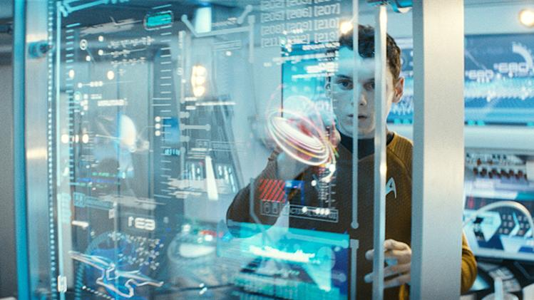 Star Trek Production Photos Paramount Pictures 2009 Anton Yelchin