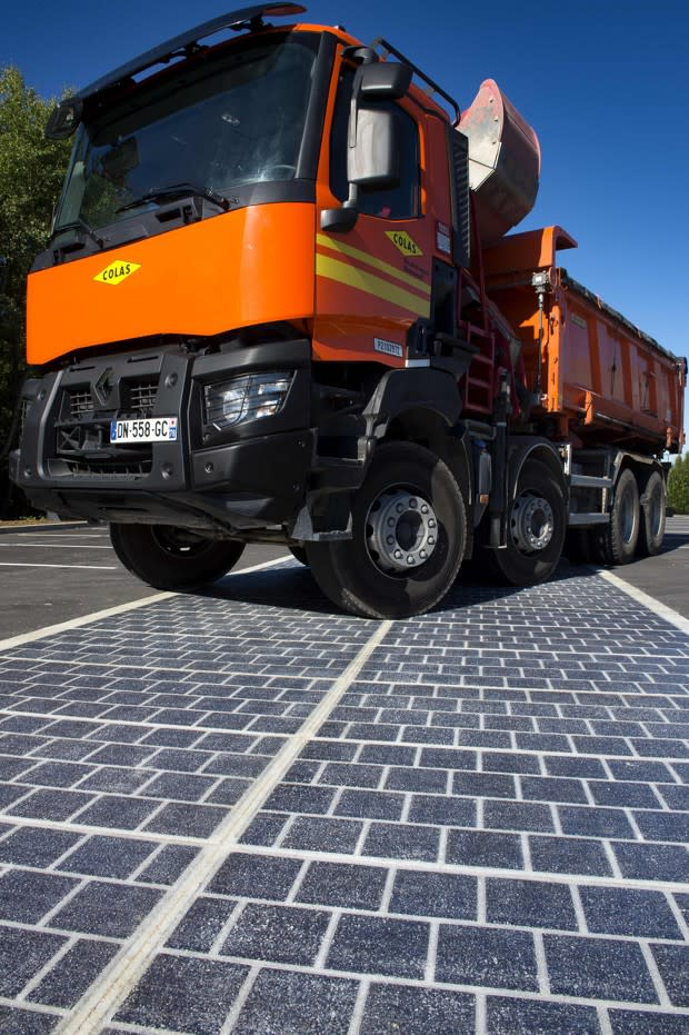 Coming Soon to France: Hundreds of Miles of Solar-Powered Roads