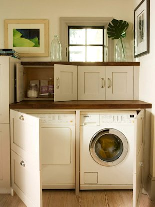 Washer and Dryer Cabinets