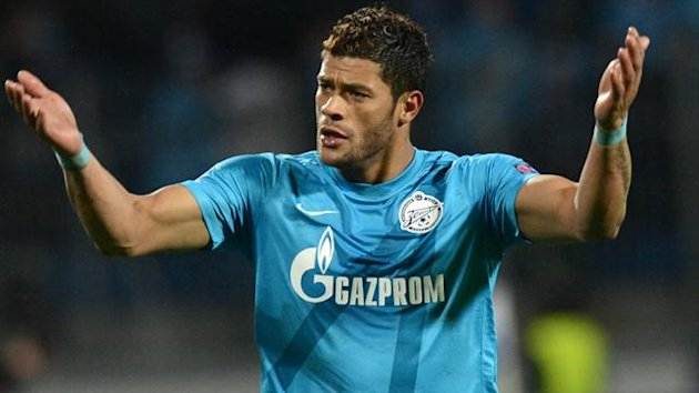 Zenit Saint Petersburg striker Hulk (AFP)