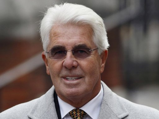 <p>British police have arrested top publicist Max Clifford, seen here in February 2012, on suspicion of sexual offences, it was widely reported.</p>