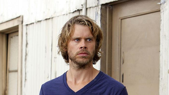 "Eric Christian Olsen stars as Police Detective Liaison Marty Deeks in ""NCIS: Los Angeles."""
