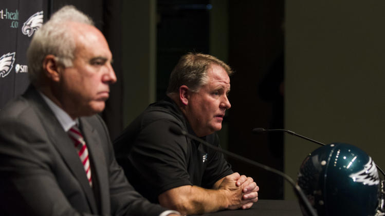 NFL: Philadelphia Eagles-Chip Kelly Press Conference