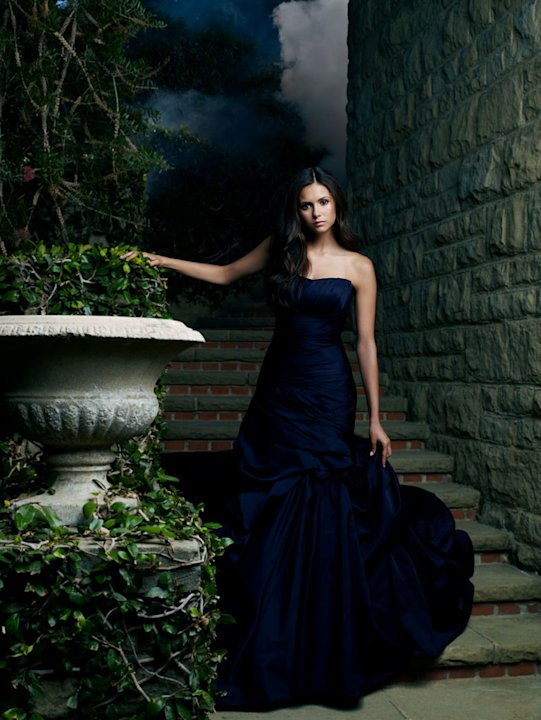 "Nina Dobrev stars as Elena/Katherine in ""The Vampire Diaries."""