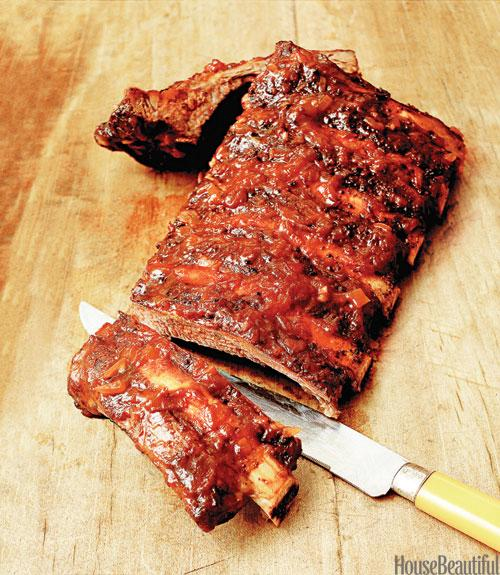 Spiced Roasted Rack of Ribs