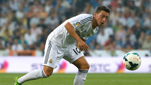 Real Madrid's Mesut Ozil (AFP)