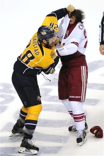 Coyotes beat Predators 1-0, go up 3-1 in series
