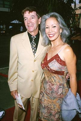 Tom Dreesen and his gal at the Santa Monica premiere of Artisan's My 5 Wives