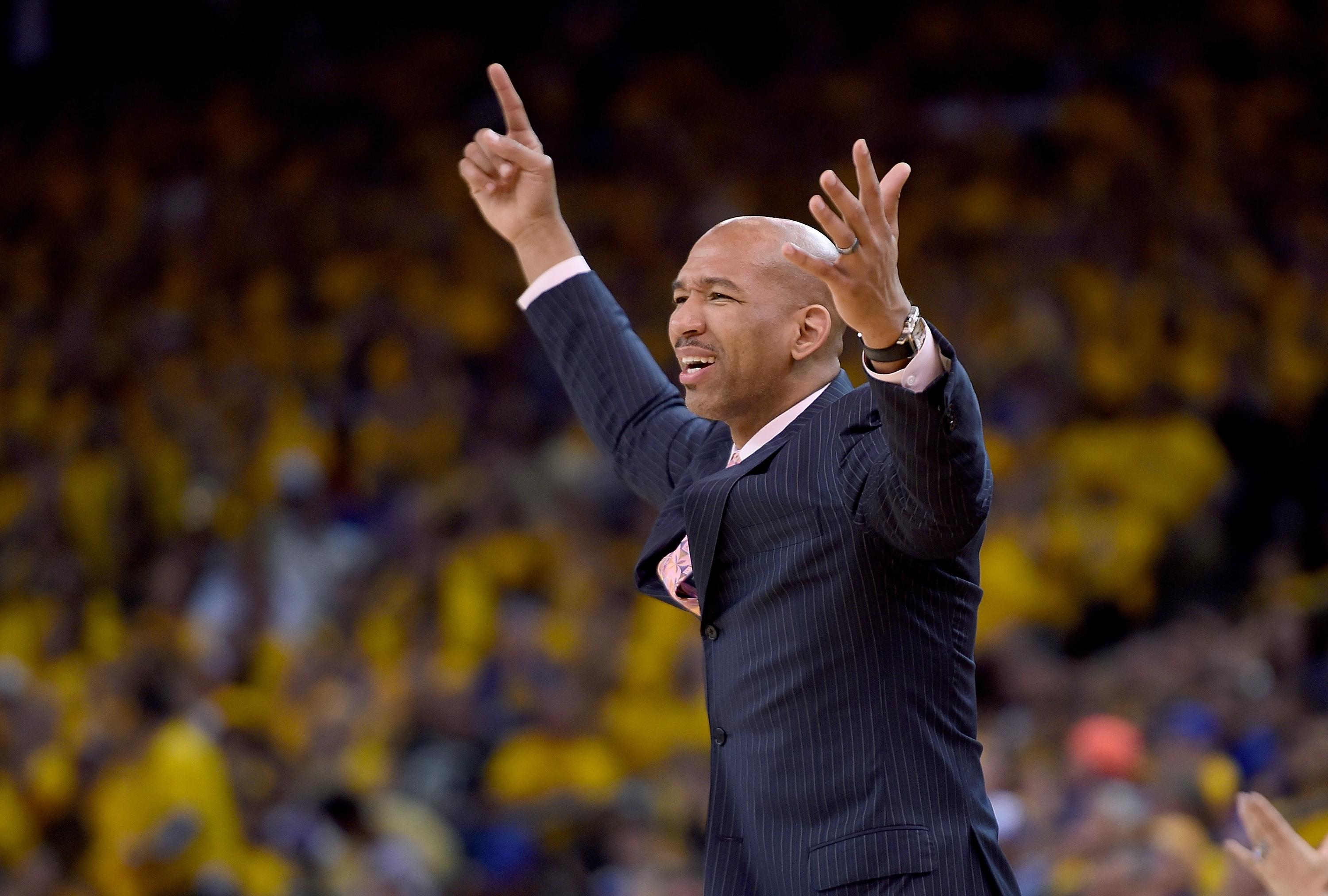 Pelicans coach Monty Williams thinks Oracle Arena's so loud it might be illegal