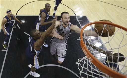 Spurs come out hot, Randolph cold in West finals