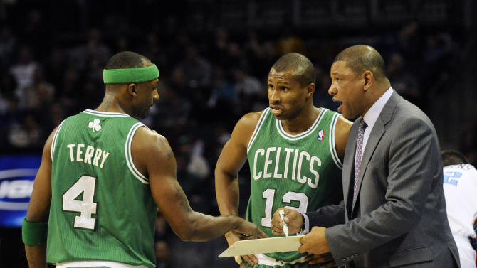 NBA: Boston Celtics at Charlotte Bobcats