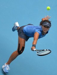 Li Na (pictured on October 6) has enjoyed an uptick in form since appointing her new coach, Carlos Rodriguez. In August, she won her first tournament since last year's Paris triumph in Cincinnati