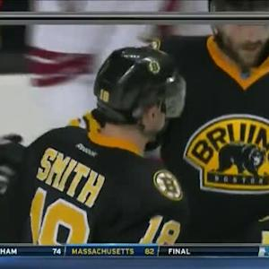 Patrice Bergeron Goal on Mike Smith (03:02/2nd)