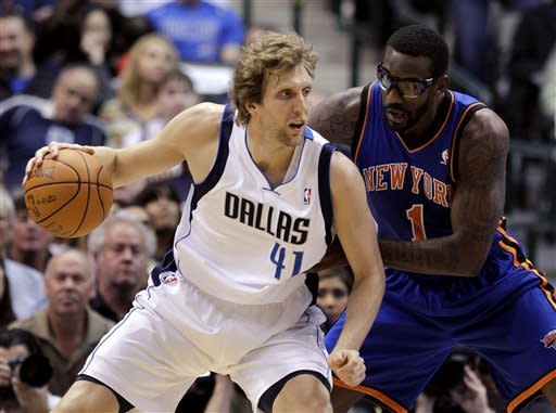 Nowitzki has 28 for Mavs in 95-85 win over Knicks