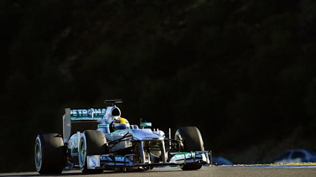 Mercedes&#39; British driver Lewis Hamilton (AFP)