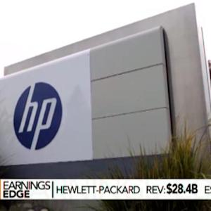 HP Sales Miss Estimates Ahead of Company Split