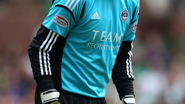 Jamie Langfield will miss Aberdeen's clash with St Johnstone