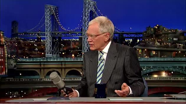 "David Letterman - Top Ten Things People Said While Watching the ""Today"" Show Prostate Exams"