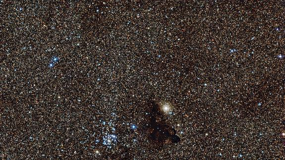 'Gecko' Space Cloud Floats Among Millions of Stars (Video)