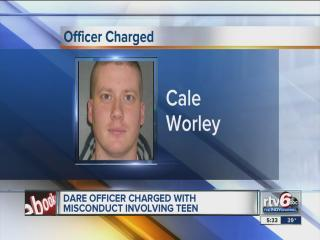 ISP: Ex-officer accused of inappropriate relationship with teen girl